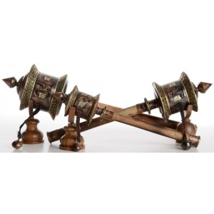 Gebetsmühle Kupfer filigran