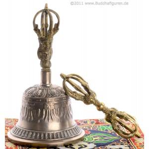 Ghanta - Glocke Sets mit Dorje