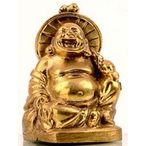 Lachender Buddha Statue 5 cm