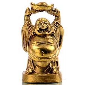 Lachender Buddha Statue 5,5 cm 2