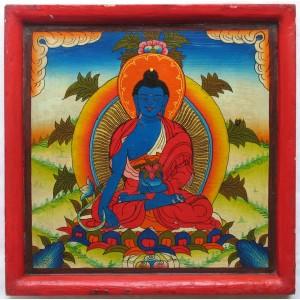 Kloster-Thangka Medizinbuddha 2