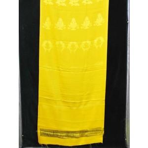 Khata, Kata - Zeremonienschal gelb