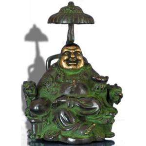 Lachender Buddha Statue 17 cm