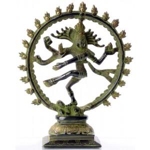 Shiva dancing - Nataraja 23,5 cm dark