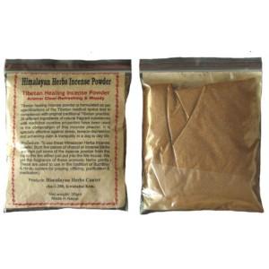 Healing Incense Pulver