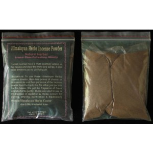 Herbal Incense Powder