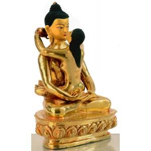 Samantabhadra 20 cm Buddha Figur