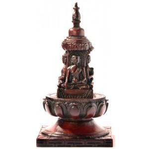 Stupa - Chörten 15 cm Resin