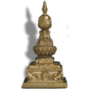 Stupa -Chörten Lotus 17 cm 2