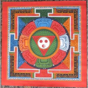 Thangka - Yantra Nr. 5 - ca. 36 x 36cm