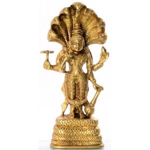 Vishnu mit Schlangen