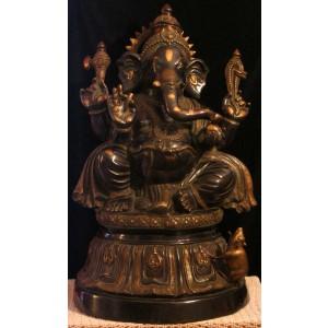 Ganesh sitting-Tempelganesh 91 cm