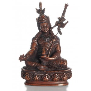 Guru Rinpoche - Padmasambhava  15 cm oxydiert Buddha Statue