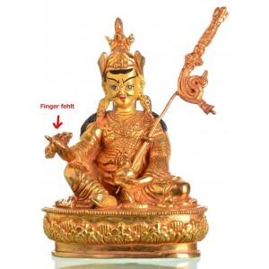 Guru Rinpoche - Padmasambhava 12 cm vollfeuervergoldet SALE