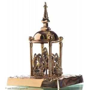 Stupa -Chörten Messing 16 cm
