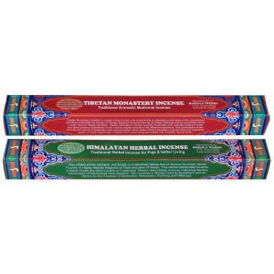 Räucherstäbchen 2er Set Himalayan Herbal - Tibetan Monastry Incense