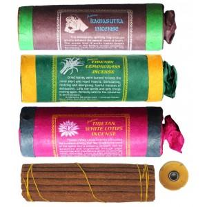 Räucherstäbchen 3er Set Kamasutra - Lemongrass - White Lotus Tibetan Incense