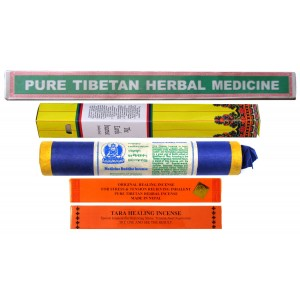 Räucherstäbchen 5er Set Tibetan Healing Incense