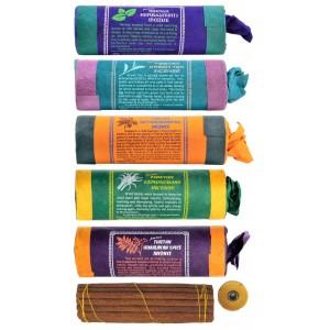 Räucherstäbchen 5er Set Tibetan Spice-Saffron-Lemongrass-Green Tea Incense