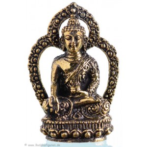 Ratnasambhava - Buddha Statue Messing 4,3cm