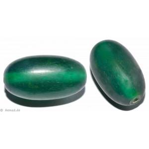 Resin-Perlen grün 16mm - 2 Perlen