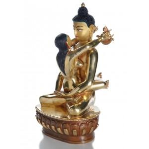 Samantabhadra 21 cm Buddha Figur