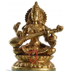 Saraswati 24 cm Messing SALE