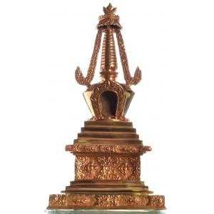 Stupa 30 cm  vollfeuervergoldet