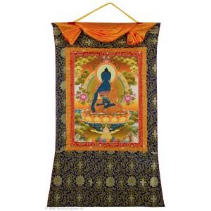 Thangka Medizinbuddha 94x145 cm