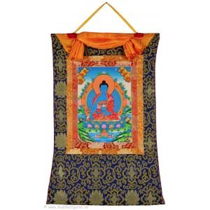Thangka Medizinbuddha 58x85 cm