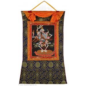Tibetischer Thangka -  Citipati