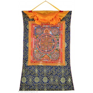 Thangka Mandala Buddha Akshobya 77 x 110 cm