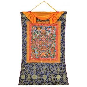 Thangka Mandala Buddha   77 x 110 cm