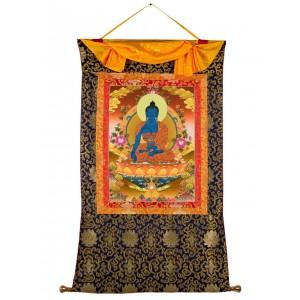 Thangka Medizinbuddha 72x115 cm