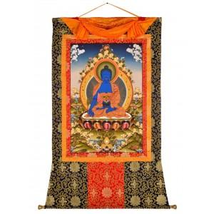 Thangka Medizinbuddha 97 x 134 cm