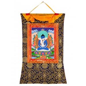 Thangka - Samantabhadra and Samantabhadri 58 x 85 cm 2