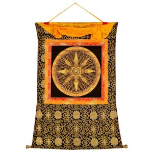 Thangka Mandala Stupa Mantra