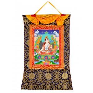 Thangka  - Weiße Tara 58 x 85 cm 2