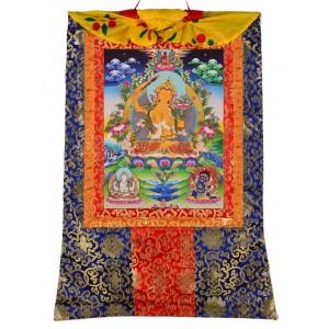 Thangka klein-Padmasambhva - Guru Rinpoche