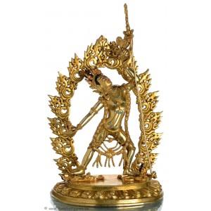 Vajra Yogini Statue 31 cm vollfeuervergoldet
