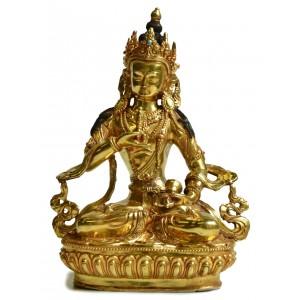Vajrasattva Statue  21,5 cm vollfeuervergoldet