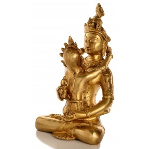Vajradhara-Shakti 24 cm Statue