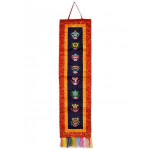 Wandbehang Tashi Tagey 117x32 cm