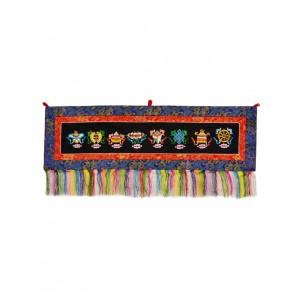 Wandbehang - Tashi Tagey quer 100x30 cm