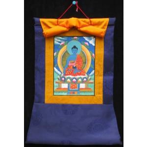 Thangka Meditationsbuddha Akshobhya