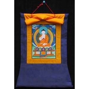 Thangka Meditationsbuddha Vairocana