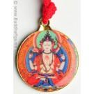 buddha anhänger chenresig