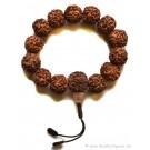 Armband  Rudraksha Beads - Hand-Mala 15mm