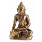 Shakyamuni Akshobhya Statue sitzende Position in der Vorderansicht