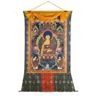 Thangka - Shakyamuni 138 x 188 cm